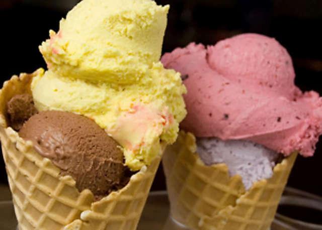 gelato cono