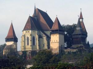 La chiesa di Biertan