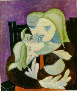 picasso madre e hijo