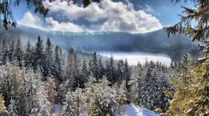 lago inverno