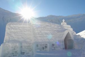 chiesa ghiaccio
